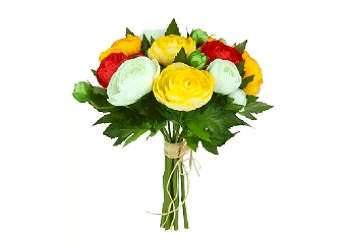 19 wholesale artificial flowers suppliers for your business salehoo ranuculus bundle mix orange mightylinksfo