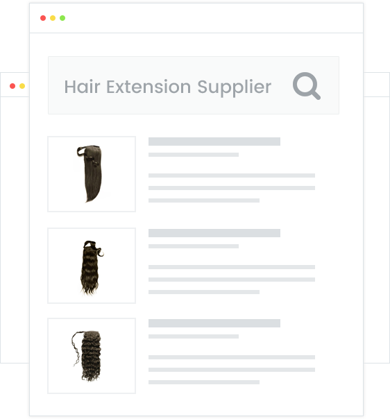 60 Wholesale Hair Extension Suppliers For Your Business Salehoo