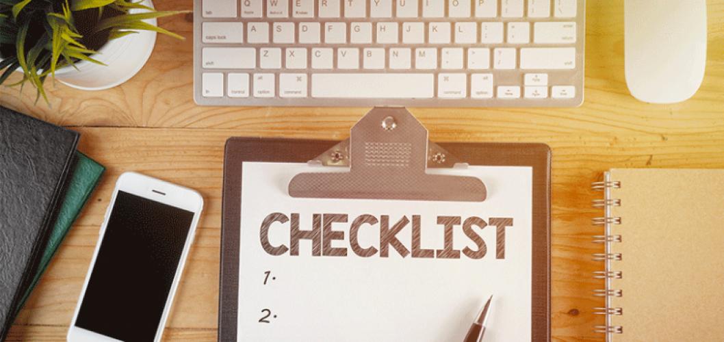 Online business start up checklist