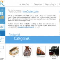 Need More Buyers? Expand your audience at eCrater.com