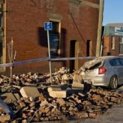 Earthquake in Christchurch, New Zealand