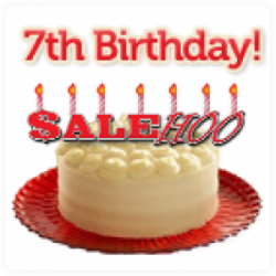 It's SaleHoo's 7th Birthday (and our $24,444 giveaway!)