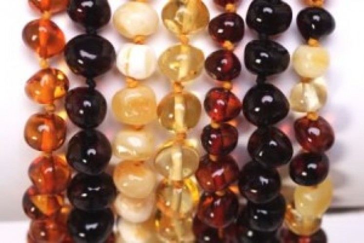 Amber Teething Necklace - Monday Market of the Week