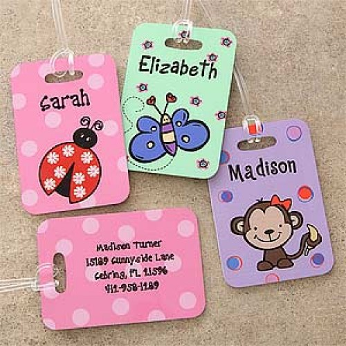 Personalized Luggage Tags – Monday Market of the Week