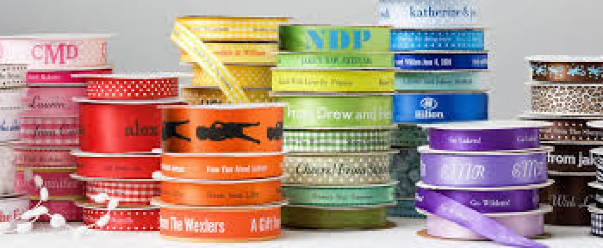 Personalized Ribbons: Monday Market of the Week