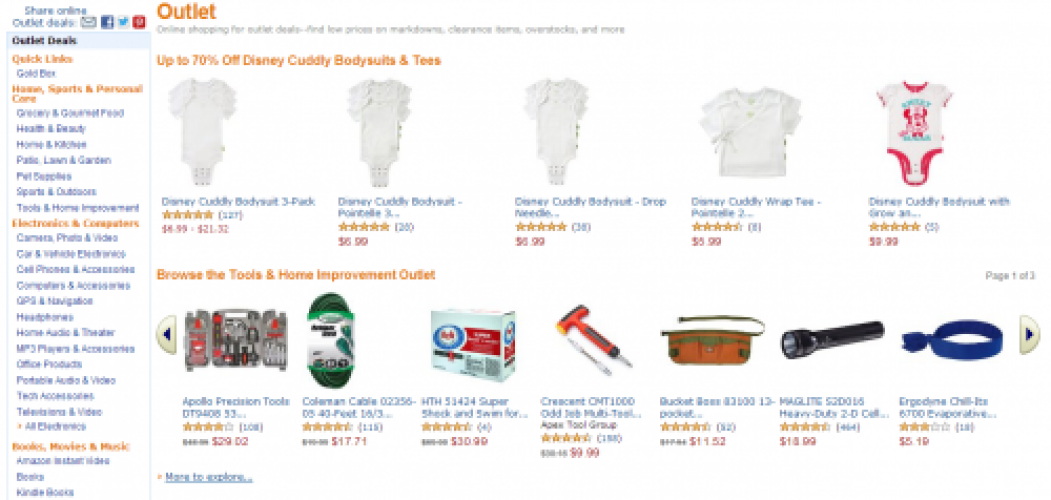 Amazon Outlet: The Best Deals You've Never Heard Of
